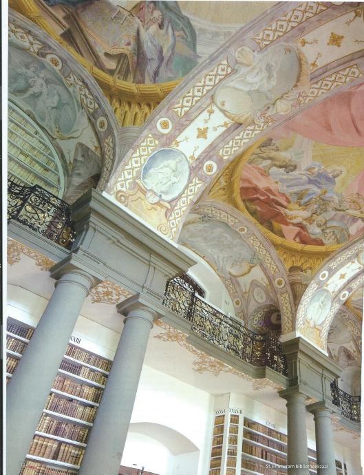 Bibliotheksaal Sankt Emmeran, Regensburg, Bayern