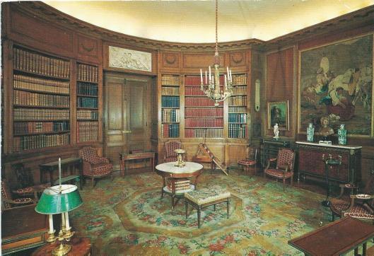 Musée Nissim de Camondo, la bibliothèques, Paris