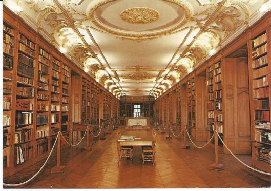 Saint Milhiel. Bibliothèque Bénédictine du XVIIIe siècle