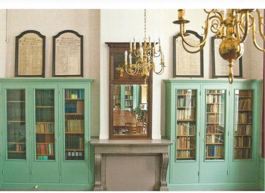 Bibliotheek van de Doopsgezinde Gemeente in Haarlem