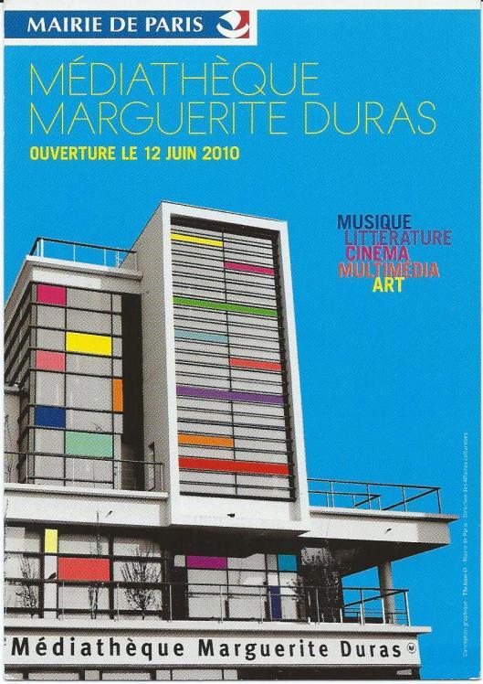 Médiathèque Marguerite Duras, Paris, France
