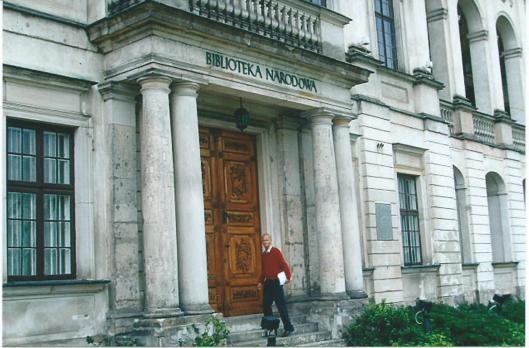Hans Krol voor de Nationale Bibliotheek van Polen in Warschau, 2008
