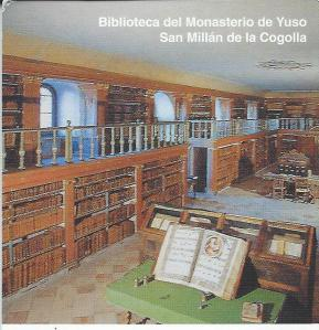 Kloosterbibliotheek Yuso, San Millan de la Cogolla, Spanje
