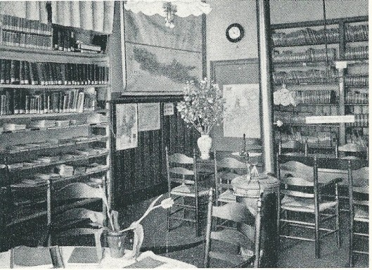 Openbare leeszaal en bibliotheek, Rosmolensteeg, Zutphen, 1914
