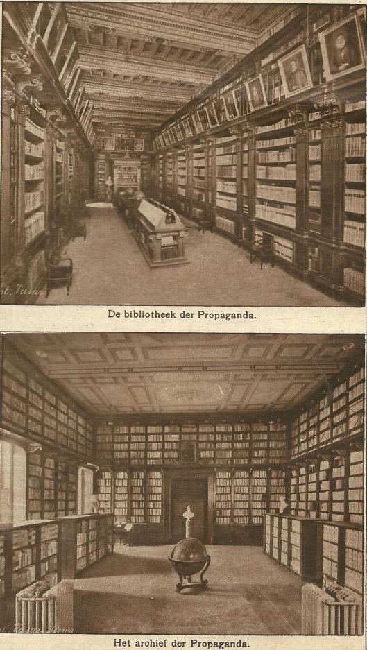 Bibliotheek en Archief van Propaganda Fide in Rome, Vaticaanstad
