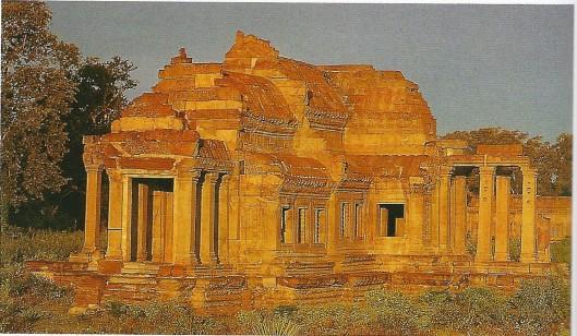 de B-bibliotheek in Angkor Vat, Cambodja