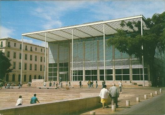 Médiathèque de Nîmes, Frankrijk