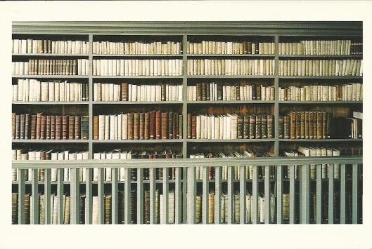 Interieurfoto van Bibliotheca Thysiana in Leiden (foto Candida Hofer)