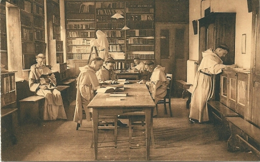 Dominicaner kloosterbibliotheek in België