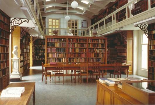 Interieur Artis Bibliotheek Amsterdam