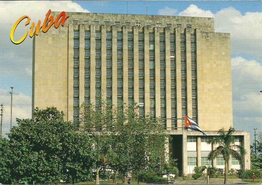 Biblioteca Nacional José Marti, Havana, Cuba
