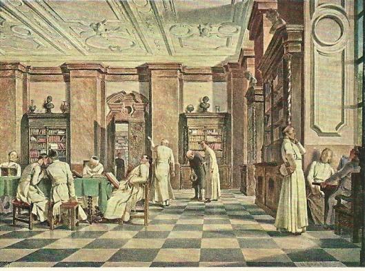 Alois Greil: 'In der Siftsbibliothek'