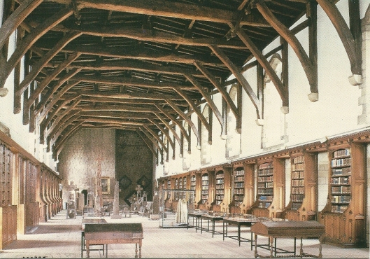 Durham Cathedral Library, England