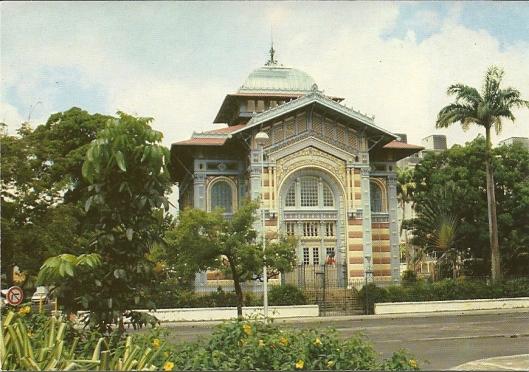 Bibliothèque de Schoelcher, Fort de France, martinique