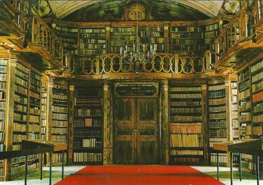Stiftsbibliothek Schlägl, Aigen i.M., Oostenrijk