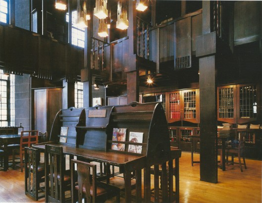 Mackintosh Library, Glasgow School of Art, Glasgow