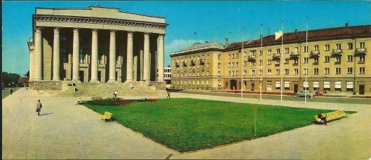 Nationale Bibliotheek van Litouwen in Vilnius