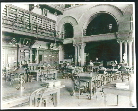 New York State Library, Albany. Circa 1900