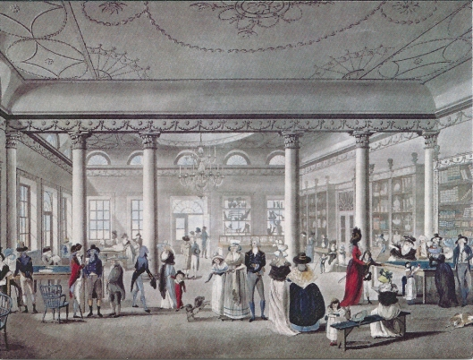 Hall's Circulating Library at Margate, 1783