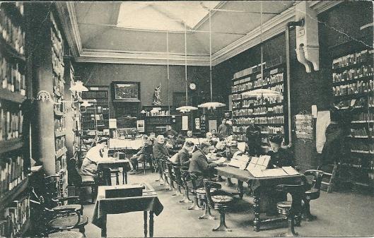 Openbare leeszaal Dordrecht