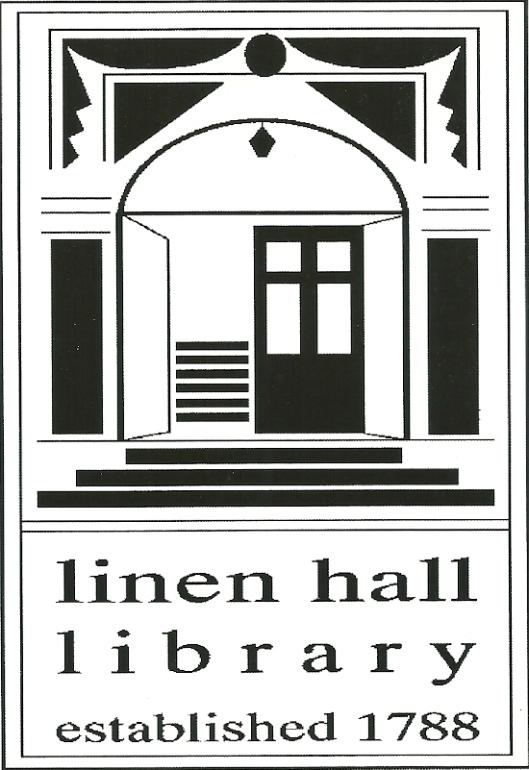 Promotiekaart van Linen Hall Library, 17 Donegall Square North, Belfast
