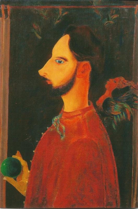 Maurice Gilliams, zelfportret 1942. (foto AMVC-Letterhuis, Antwerpen, Michiel Wuyts)