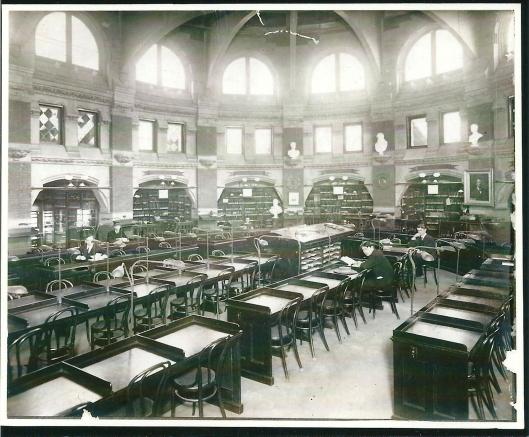 University of Pennsylvania Library, Philadelphia. Circa 1900