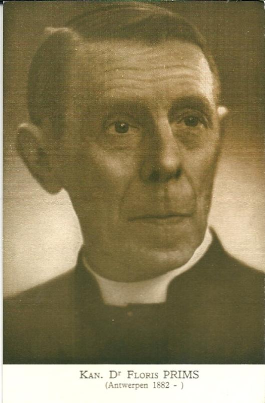 Kanunnik dr. Floris Prins (ansichtkaart A.S.K.B.)