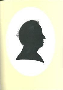 En profil, silhouet getekend door Pieter Wetselaar, 2005