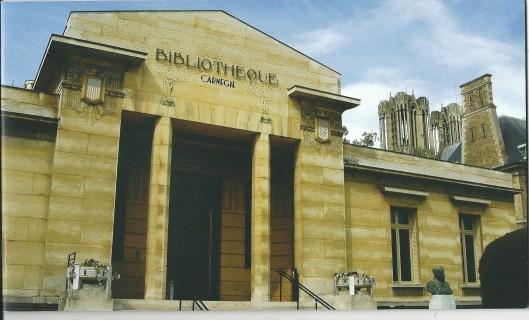 Bibliothèque Carnegie, Reims