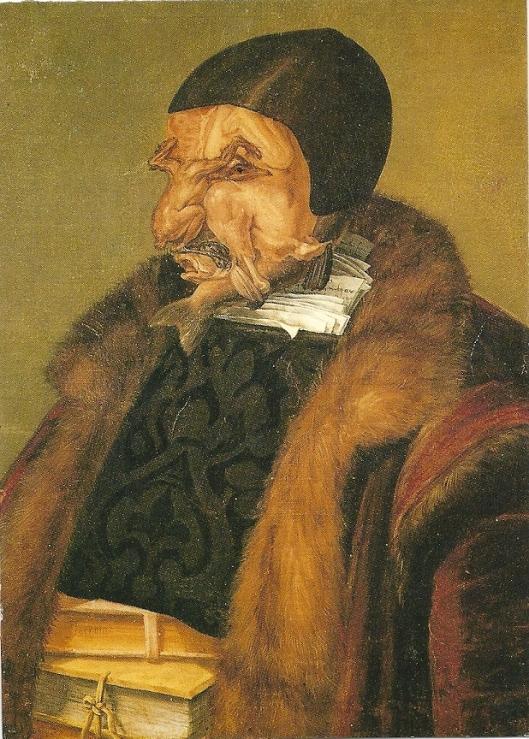 Guiseppe Arcimboldo. de jurist, 1566