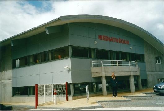 Médiathèque van Le Thillot, Frankrijk