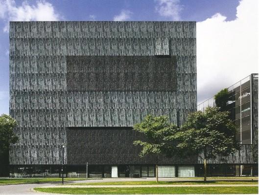 Universiteitsbibliotheek Utrecht, 2004, omtworpen door Wiel Arets (James W.P.Campbell/Will Pryce)