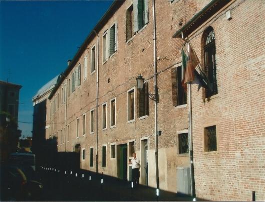 Hans Krol voor de openbare bibliotheek van Padova (Padua), 2007