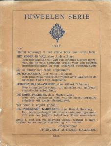 Flyer van uitgeverij Gottmer in haarlem