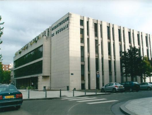 Médiathèque van Roubaix
