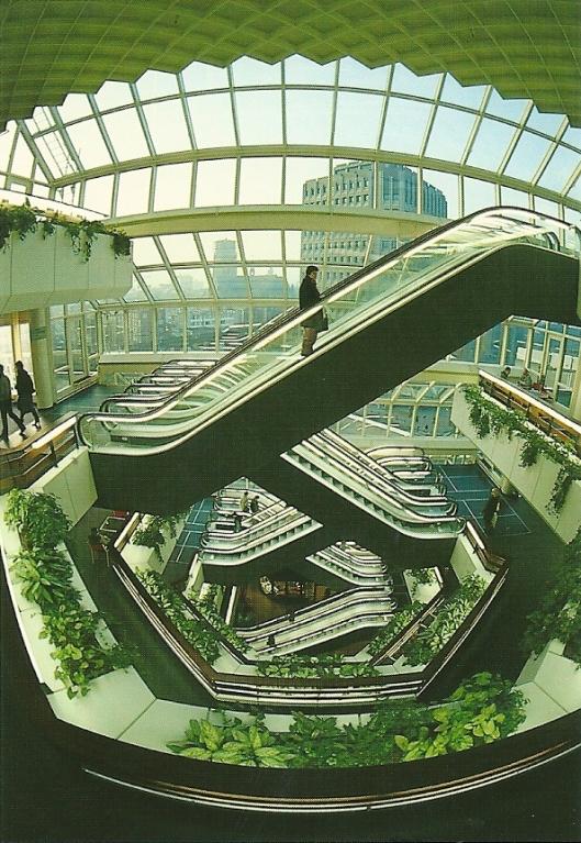 Interieur van Centrale Bibliotheek Rotterdam