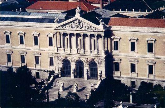 Biblioteca Nacional, Madrid, Spanje