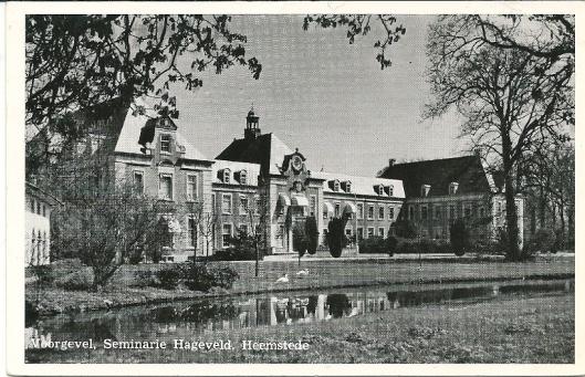 Voormalig seminarie Hageveld in Heemstede, in het rechterbouwwerk was de bibliotheek gevestigd