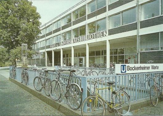 Universiteitsbibliotheek Frankfurt am Main