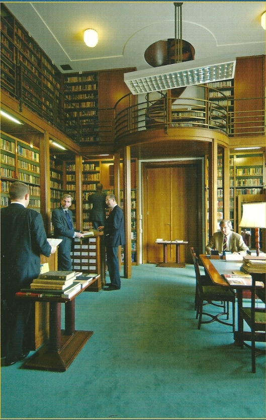 Bibliotheek sociëteit de Witte in 's-Gravenhage