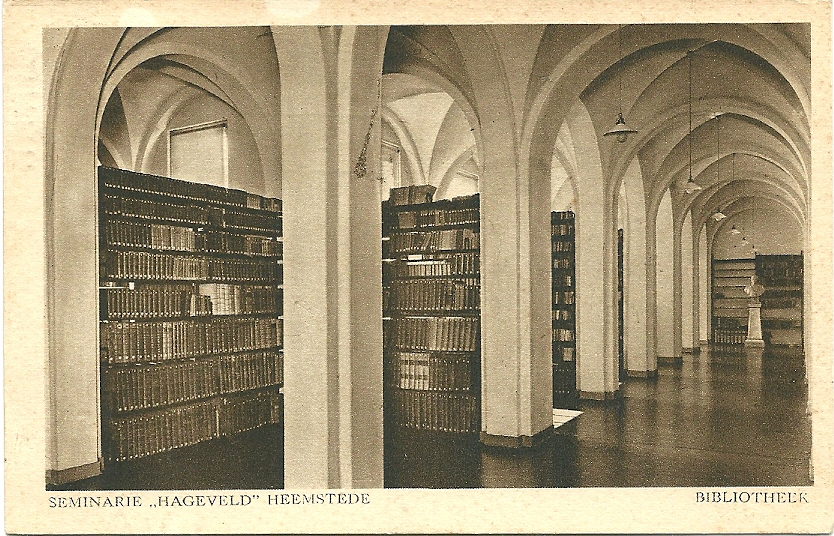 Libraries worldwide on 1500 postcards and pictures librariana - Interieur bibliotheek ...