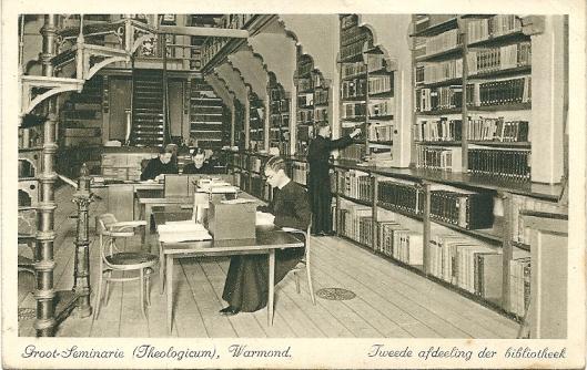 Grootseminarie Warmond; tweede afdeling van de bibliotheek