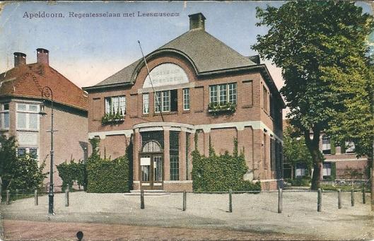 Leesmuseum Apeldoorn, circa 1920