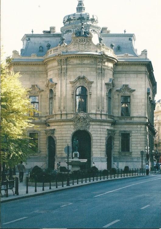 Voormalig Wenckheim-paleis, tegenwoordig Ervin Sazabó-bibliotheek, Budapest. Tussen 1886 en 1891 gebouwd naar een ontwerp van Arthur Meinig.