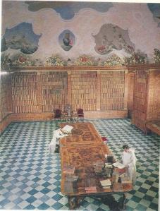 Kloosterbibliotheek Jasna Gòra in Czestochowa, Tsjechië