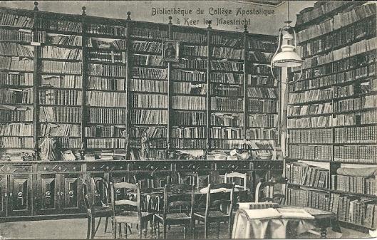 Vm. bibliotheek van het Apostolisch College in Cadier en Keer, Maastricht