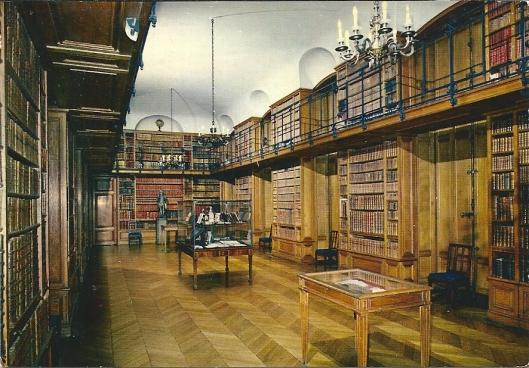 Kasteelbibliotheek van Beloeil, België