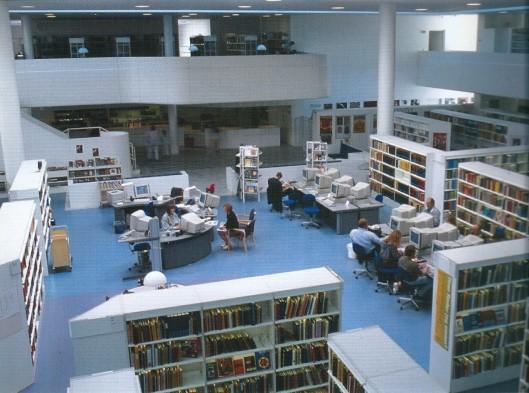 Gentofte bibliotheek, Hellerup, Denemarken
