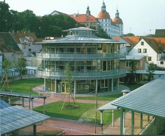Stadsbibliotheek van Neuburg aan de Donau